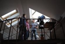 In observatorul astronomic